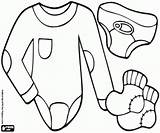 Underwear Coloring Printable sketch template
