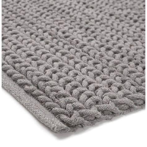 tapis design rectangulaire  cm   cm tricot en