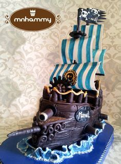 g 226 teau bateau pirate pirate ship cake