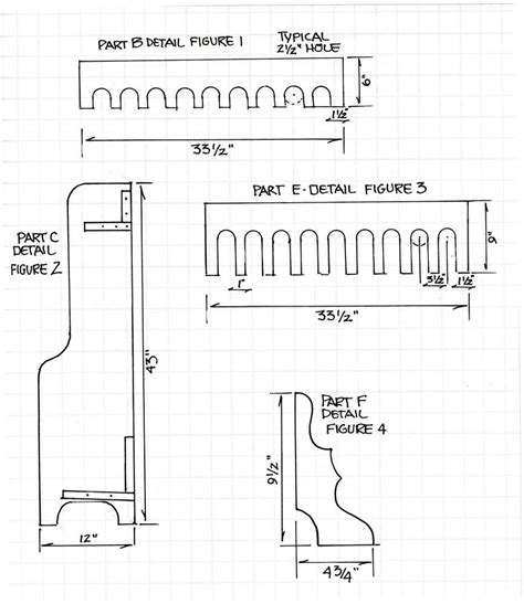printable gun rack template this package contains designs that is covered from to toe from step by step