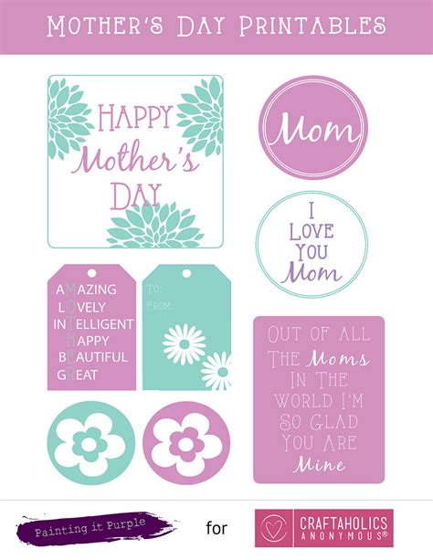 craftaholics anonymous 174 free s day printables