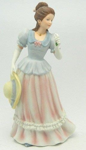 Sold Lady Camille 1452 Homco Home Interiors Porcelain 8