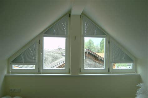 Dreiecksfenster Sichtschutz by Rolladerie Transparenter Sonnenschutz Blendschutz