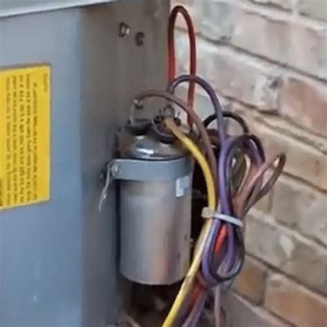 ac capacitor replacement   ac repairs  dubai