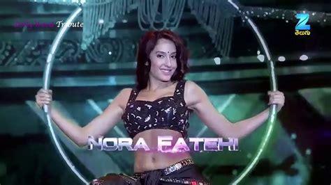 nora fatehi performance apsara awards  video dailymotion