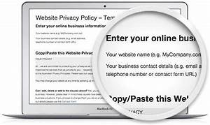 website privacy policy template legal123comau With privacy policy template australia free