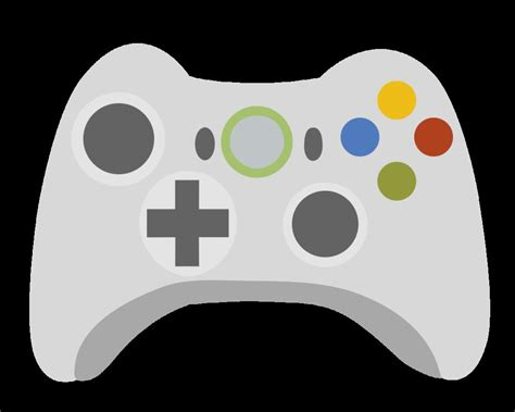 X Box 360 Controller Clipart Clipart Suggest