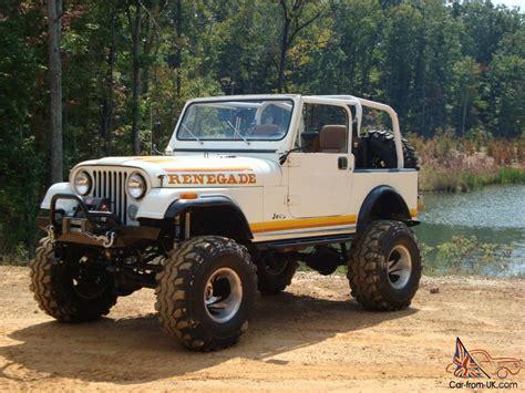 renegade jeep cj7 jeep cj cj7 1981 renegade hard top