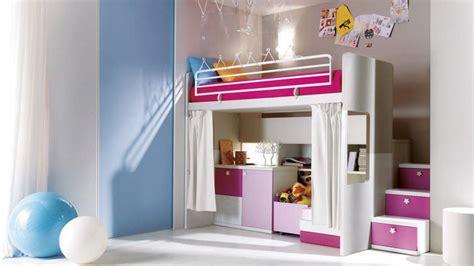 Decoration Chambre Fille Avec Lit Mezzanine  Visuel #1
