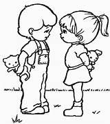 Kleurplaten Kinder Kinderen Malvorlagen Kleurplaat Ausmalbilder Gifs Kind Enfants Spelen Coloring Freundschaft Coloriages Animaatjes Ninos Dibujos Bewegende Animaties Bild Colorare sketch template