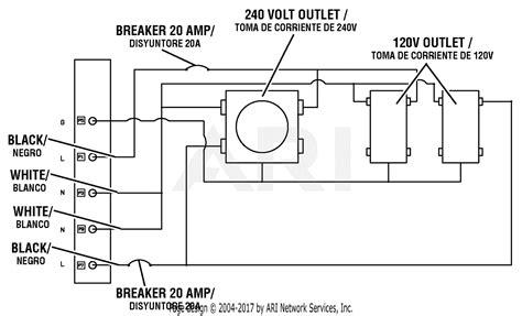 Homelite Series Watt Generator Parts Diagram