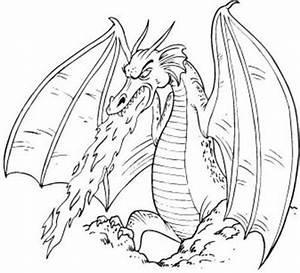 Dragon Clipart in Black And White – 101 Clip Art