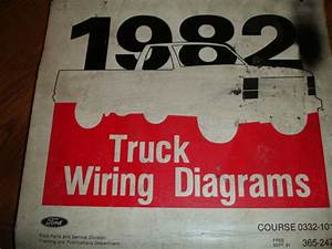1982 Ford F600 700 F800 Cab Electrical Wiring Diagrams Service Schematic Manual