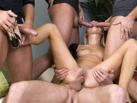 Four Giant Guys Banged Fun