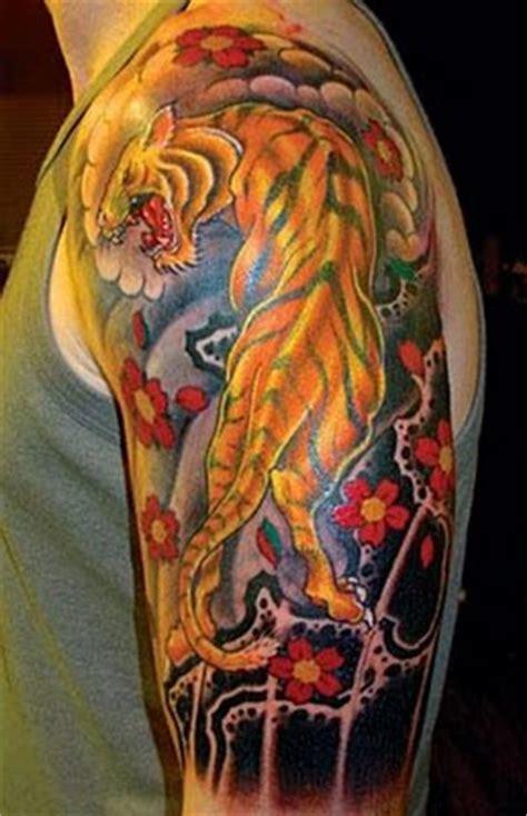 tattoo harimau tiger tattoo gambar seni tattoo