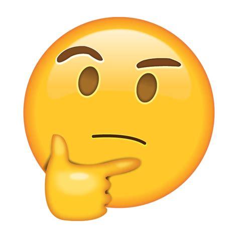 thinking emoji sticker thought emoticon emoji png