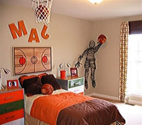 basketball bedroom decor simple things to consider for an inspiring basketball