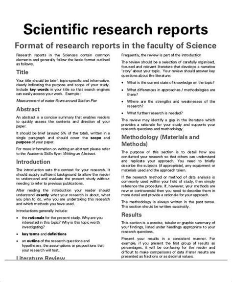 sample research reports  ms word apple pages google docs