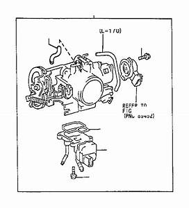 Toyota Camry Body Assembly  Throttle  System  Fuel