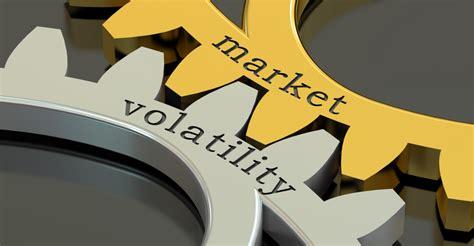 vix volatility drops   year