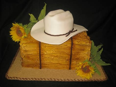cowboy hat cake kim porters kids   lie