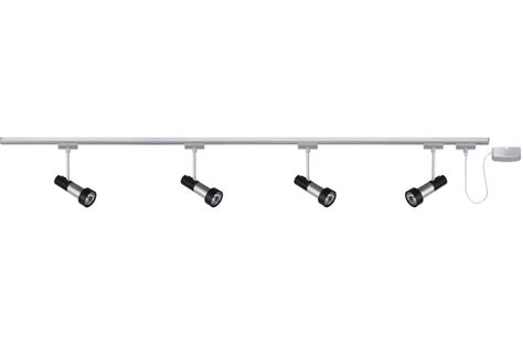 eclairage tableau eclairage sur rail palfond halog 232 ne kit eclairage u rail klingsor paulmann