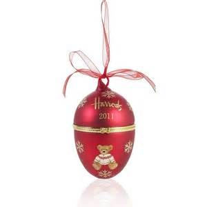 harrods 2011 christmas bauble polyvore