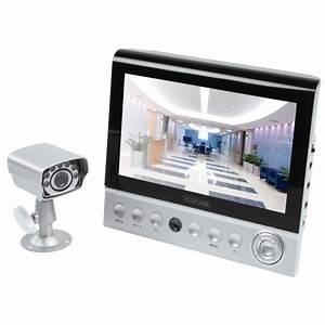 Camera Wifi Exterieur Sans Fil : kit video surveillance sans fil ecran 7 et mini camera ~ Dailycaller-alerts.com Idées de Décoration