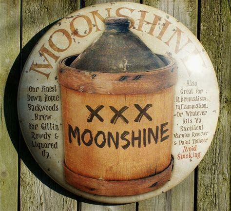 country kitchen signs moonshine tin metal sign americana vintage look 2890