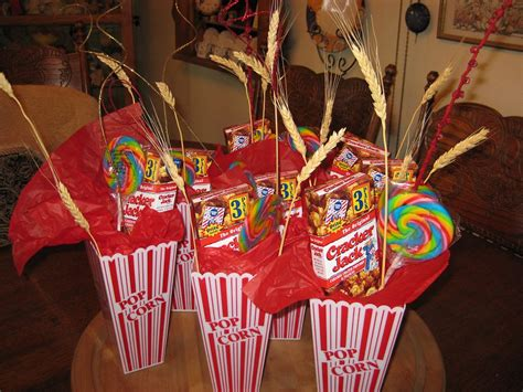 Carnival Party Treat Table