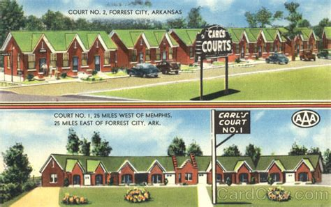 Carl's Courts Forrest City, Ar