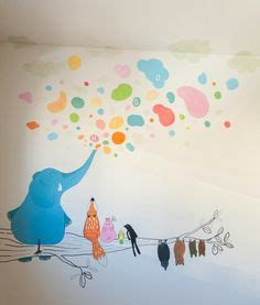fresque chambre b fresque murale dans la chambre d enfant 35 dessins