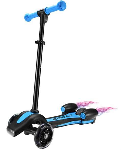 trottinette 233 lectrique enfant 3 roues trott bleu lestendances fr