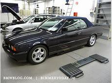 Foto BMW M5 E34 Cabrio BMW E34 M5 CONVERTIBLE 01