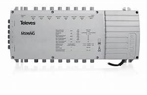 Telefonkabel Als Netzwerkkabel : televes multischalter mit netzteil ms96ng online kaufen ~ Watch28wear.com Haus und Dekorationen