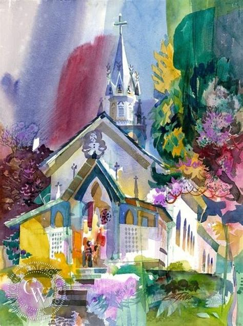 kenneth potter   american watercolor artist