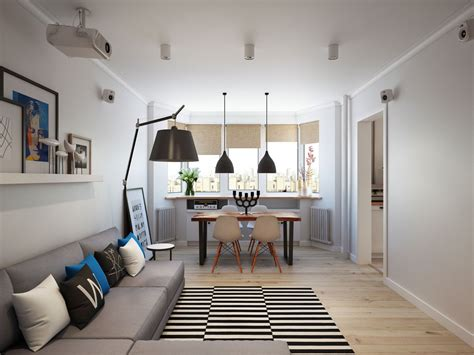styling small apartments going scandinavian in style space savvy apartment in moscow