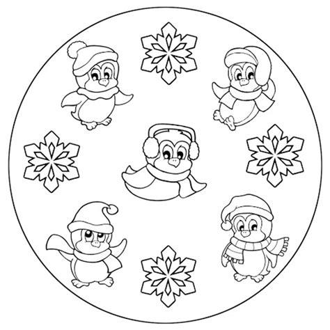 mandala animali da colorare pdf 10 mandala sull inverno da colorare