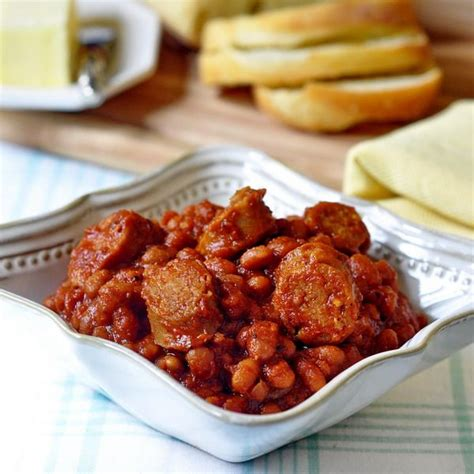 Baked Bean Recipes with Sausage