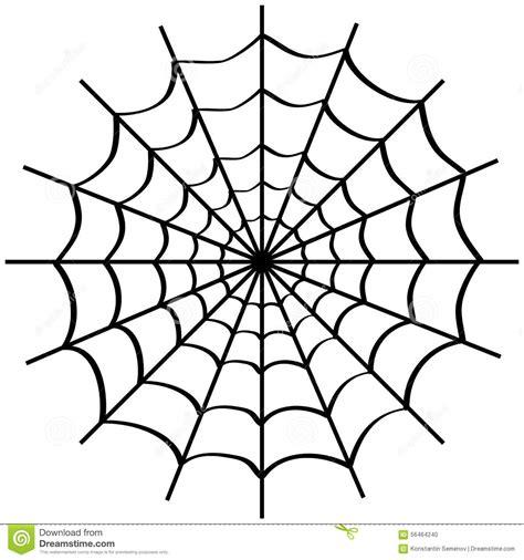 toile d araign 233 e sur le blanc illustration stock image 56464240