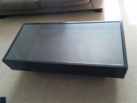 Glass Top Display Case Coffee Table  Home Design