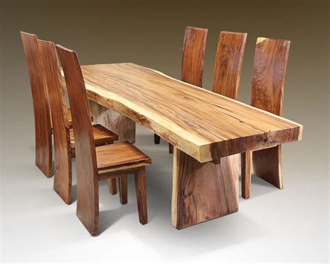 Furniture Rustic Dining Tables Custommade Wood Dining