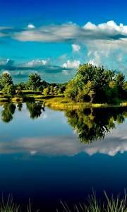 Peaceful, Lake