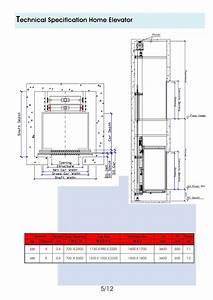 Diagram Lift 4 Lantai