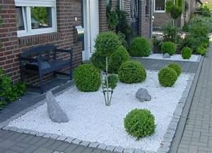vorgarten pflanzen gestalten spinjoinfo With französischer balkon mit mini zen garten anlegen