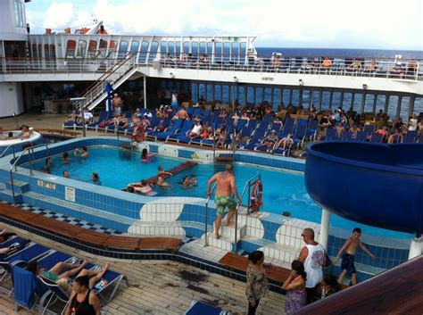 pool spa fitness on carnival paradise cruise ship