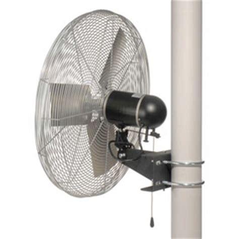 explosion proof fans suppliers fans wall fans tpi 24 pole mount fan 1 4 hp 8000 cfm 3