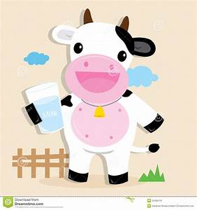 Cow Cute Character Cartoon Design Vector Stock Vector ...
