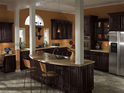 kitchen cabinets espresso finish brisbin echelon cabinets 6042