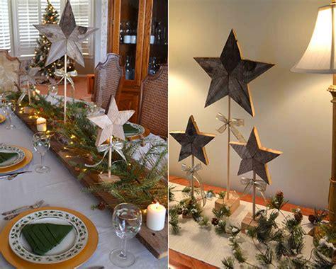 Weihnachtliche Tischdeko Holz by Bastelideen Holz Weihnachten Wohnideen